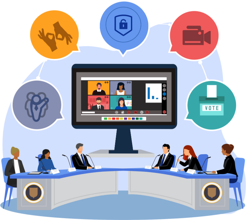 The Features of Virtual Council